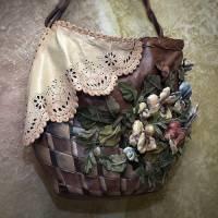 Как украсить сумку собственноручно