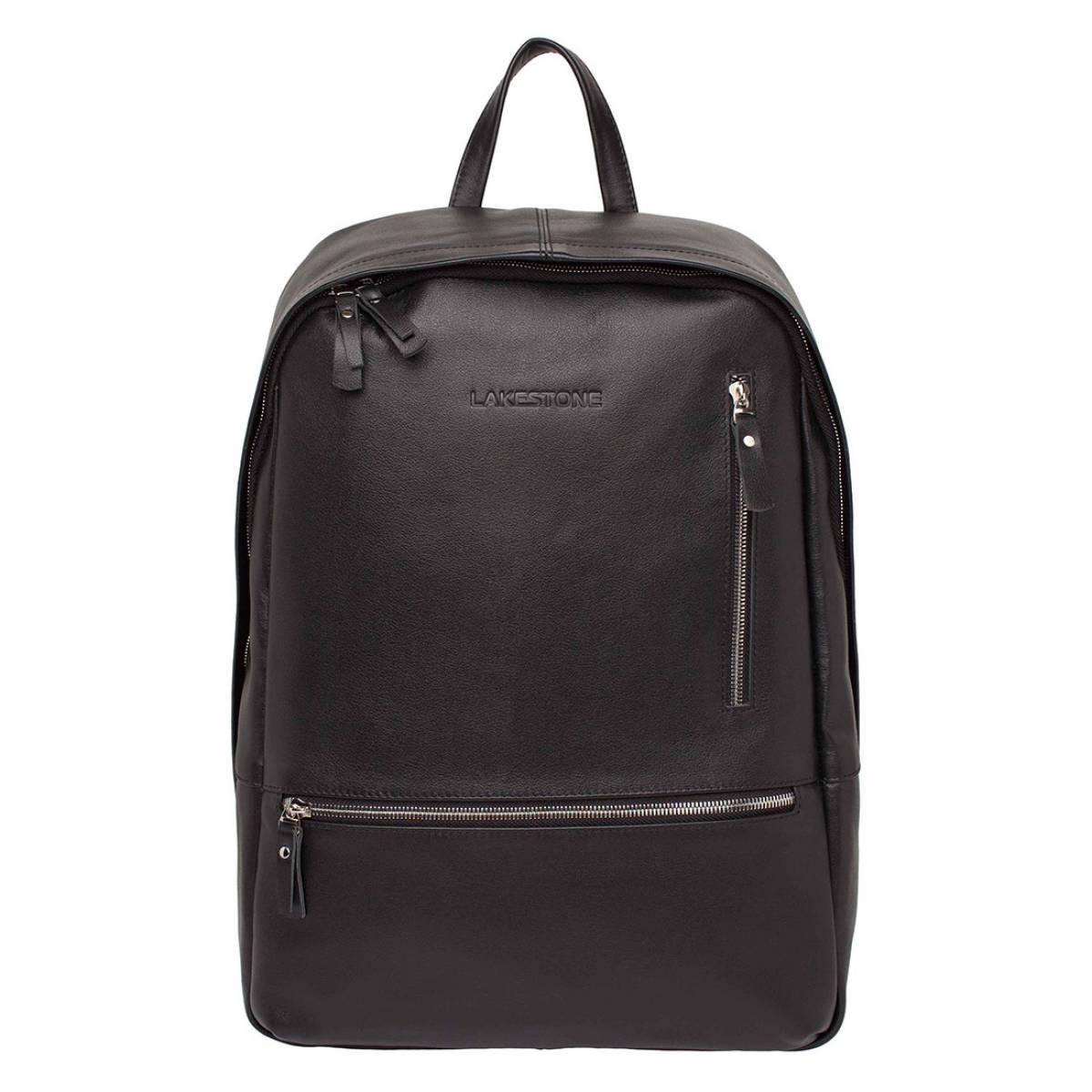 Кожаный рюкзак Adams Black фото