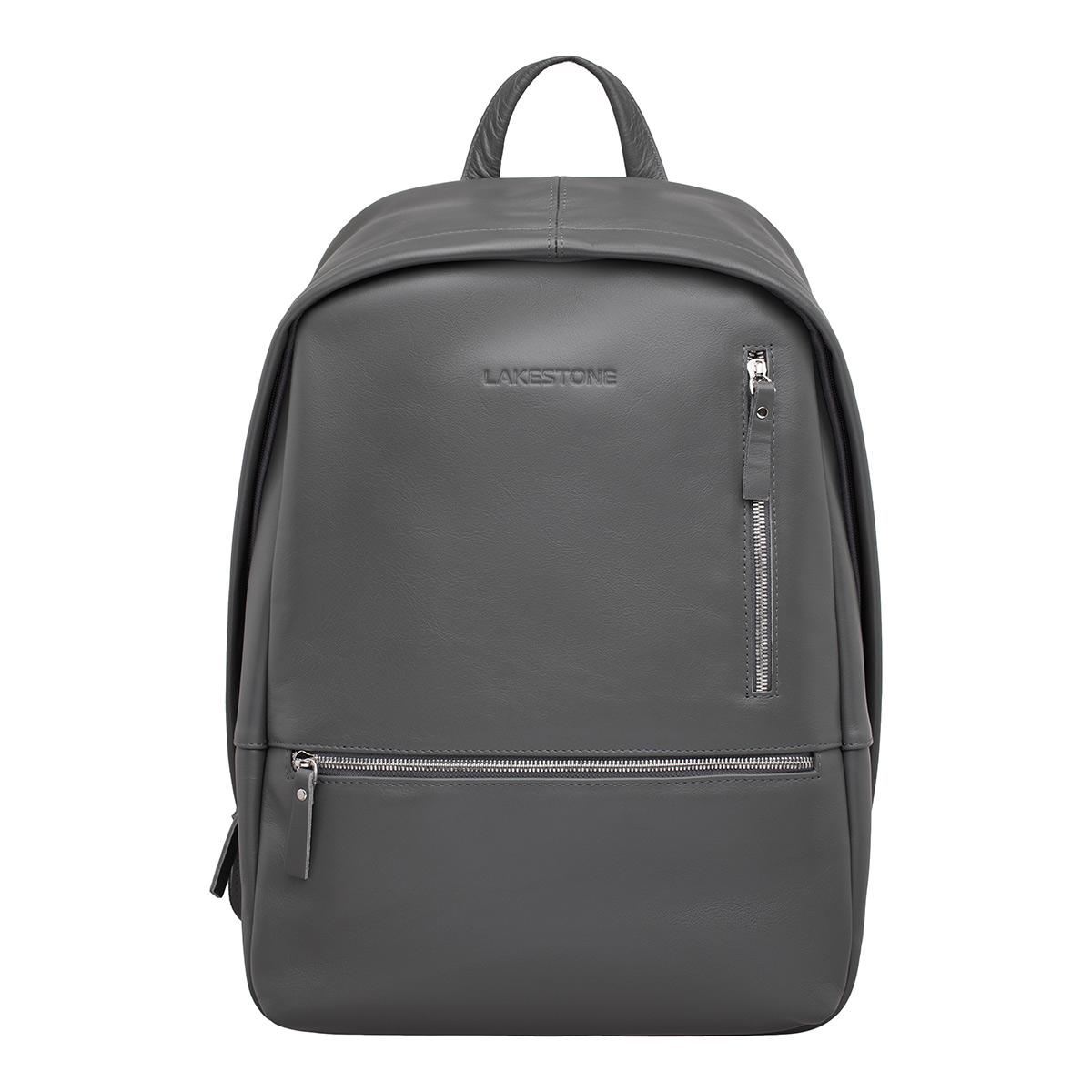 Кожаный рюкзак Adams Grey фото