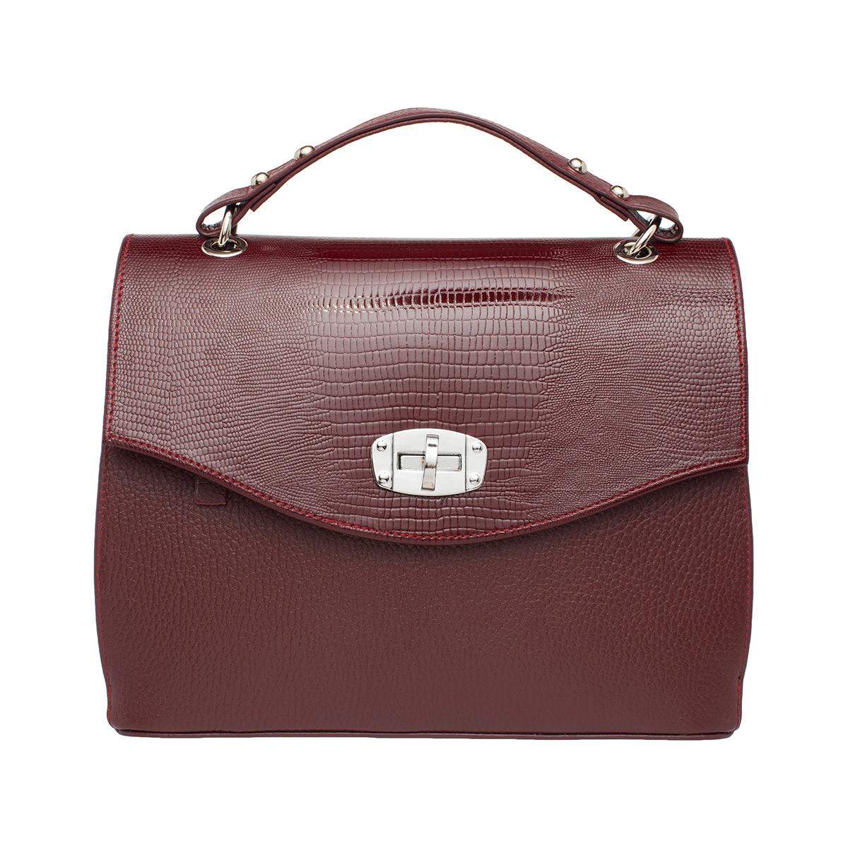 Женская сумка Alison Burgundy
