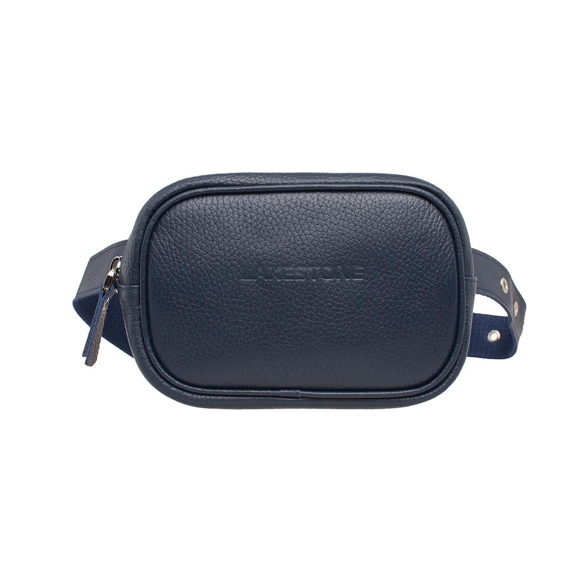 Женская сумка на пояс Alma Dark Blue