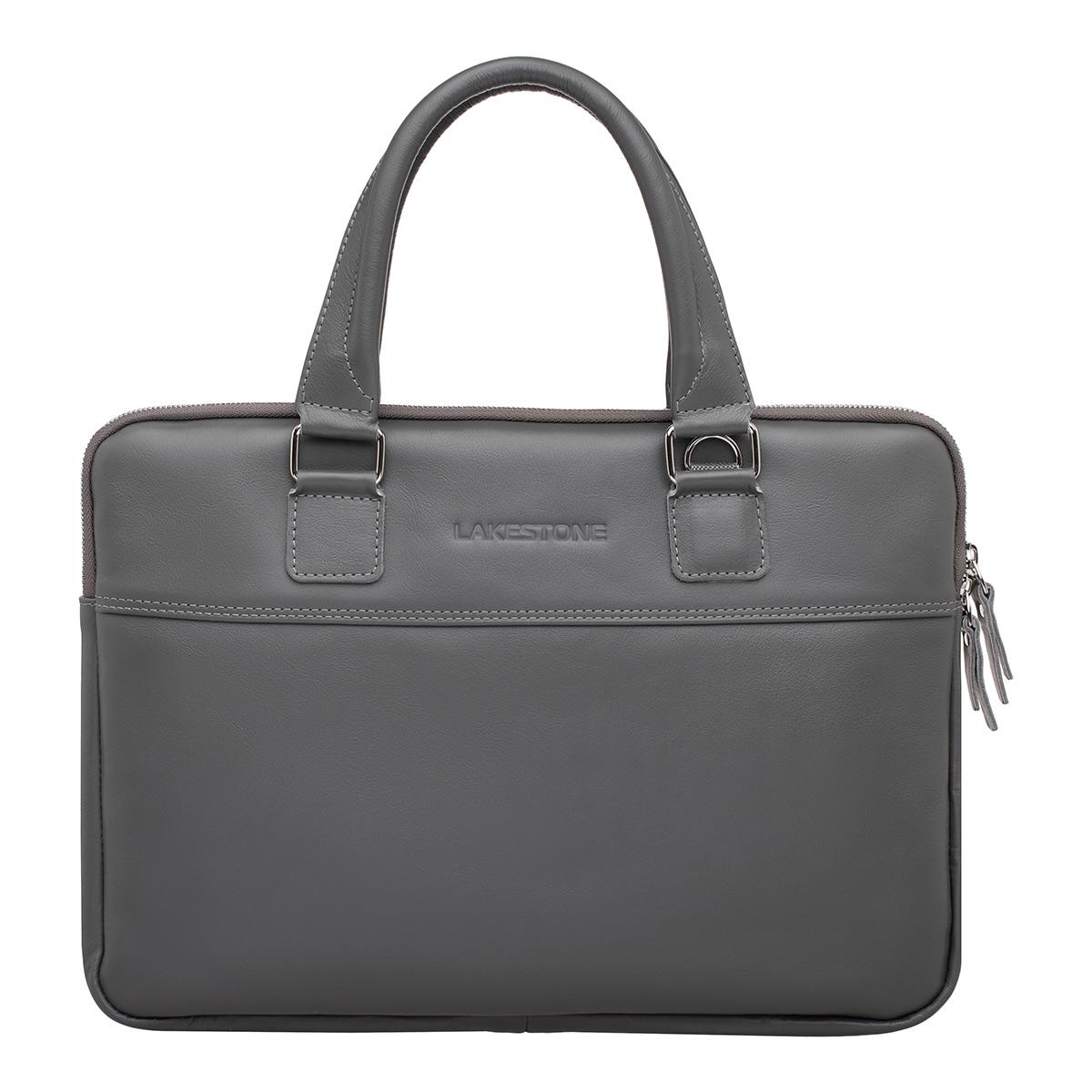 Деловая сумка для ноутбука Anson Grey фото