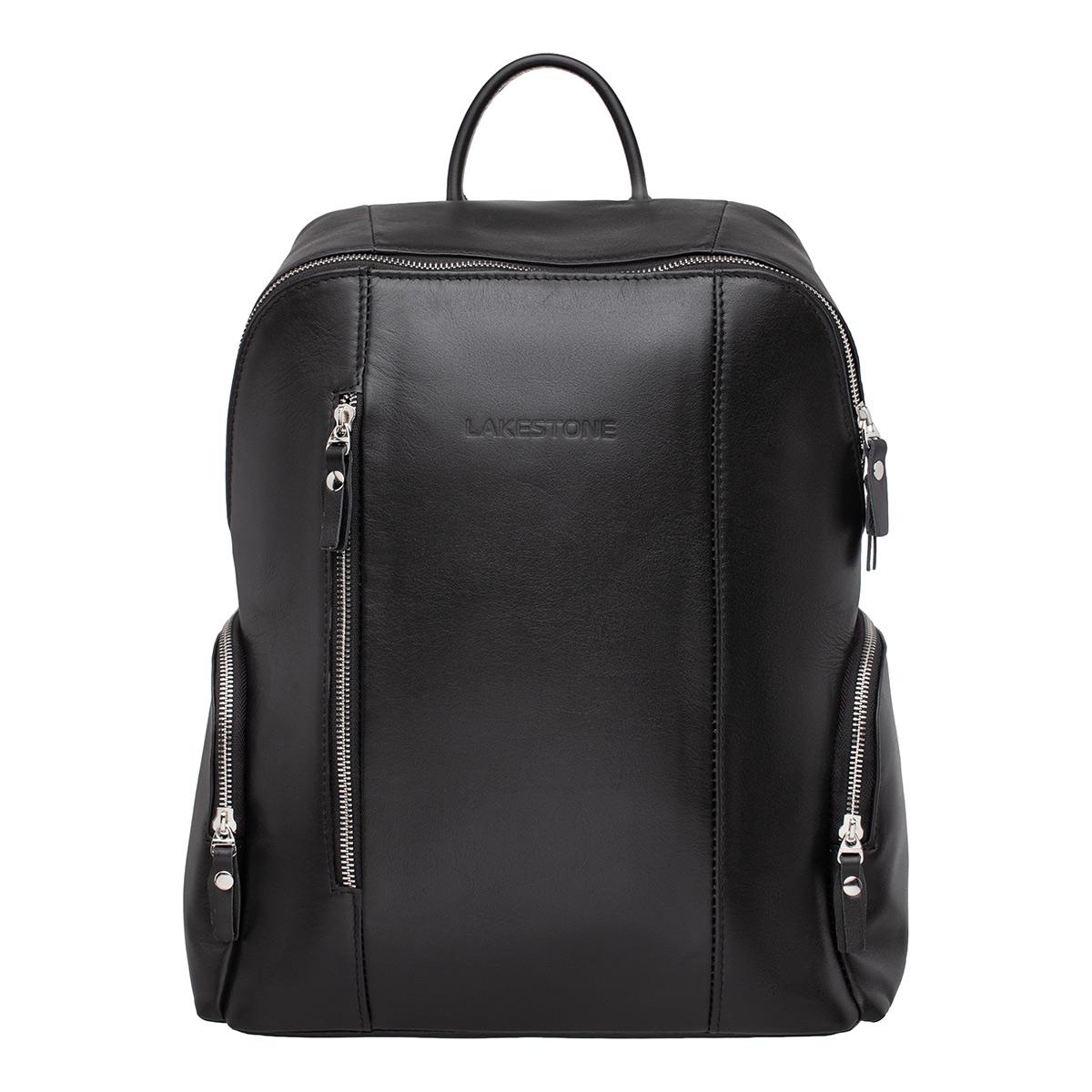 Кожаный рюкзак Arlington Black фото