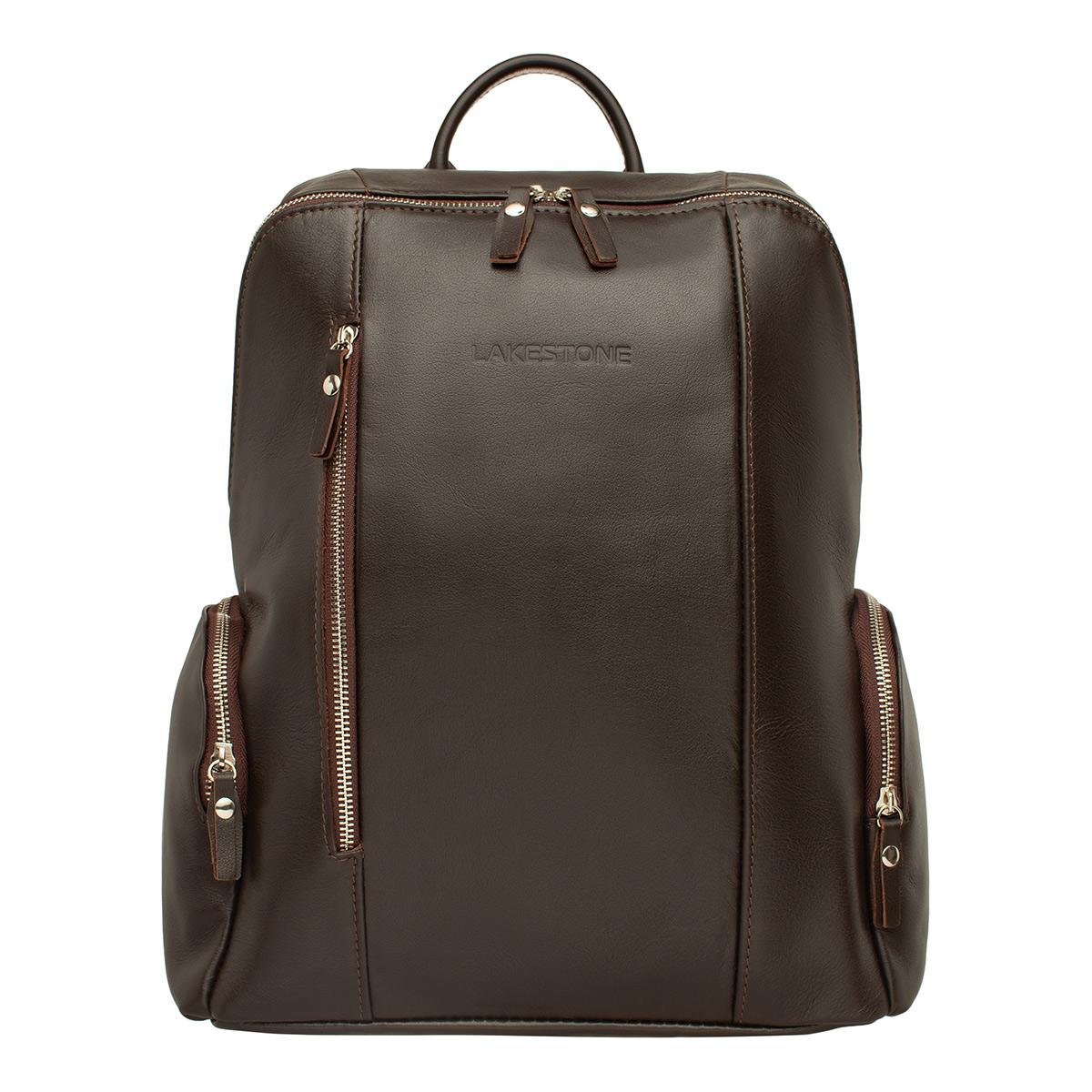 Кожаный рюкзак Arlington Brown фото