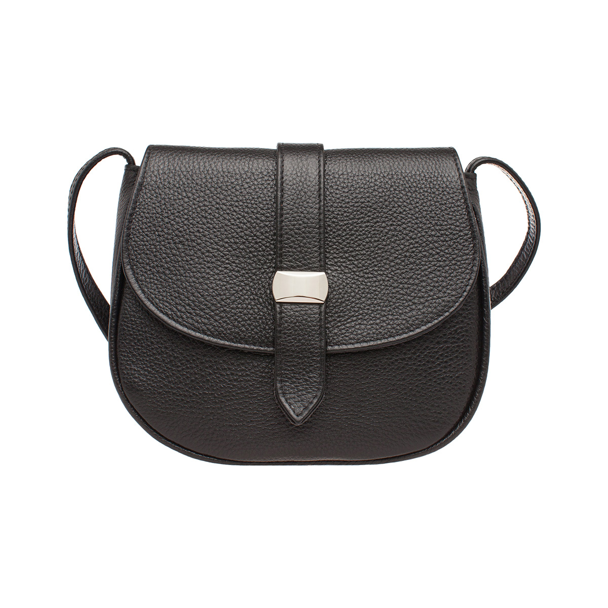 Женская сумка через плечо Baglyn Black фото