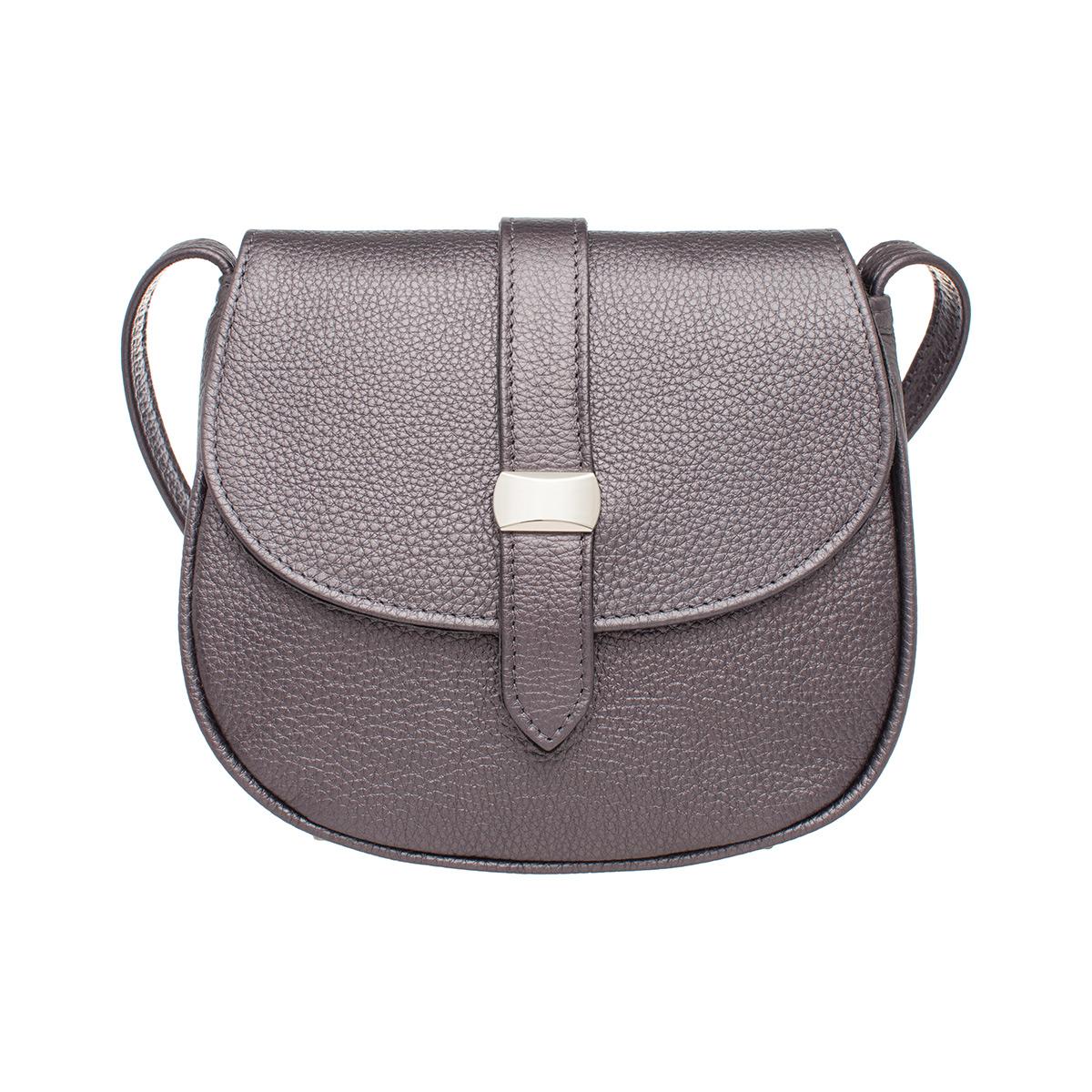 Женская сумка через плечо Baglyn Silver Grey фото