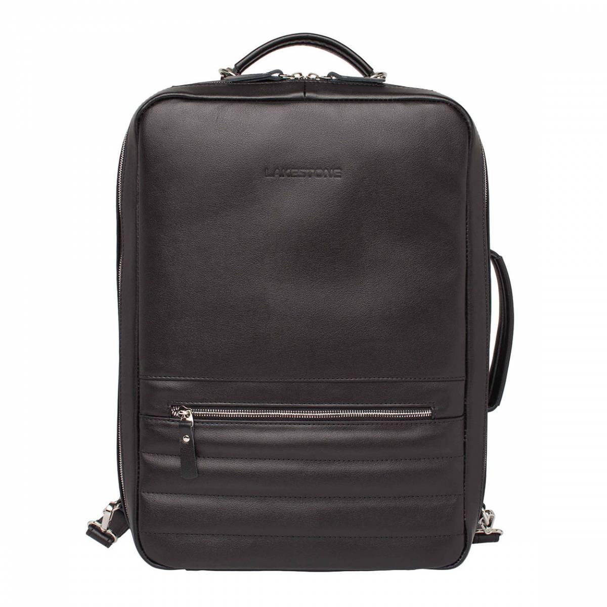 Рюкзак-трансформер для ноутбука Banister Black фото