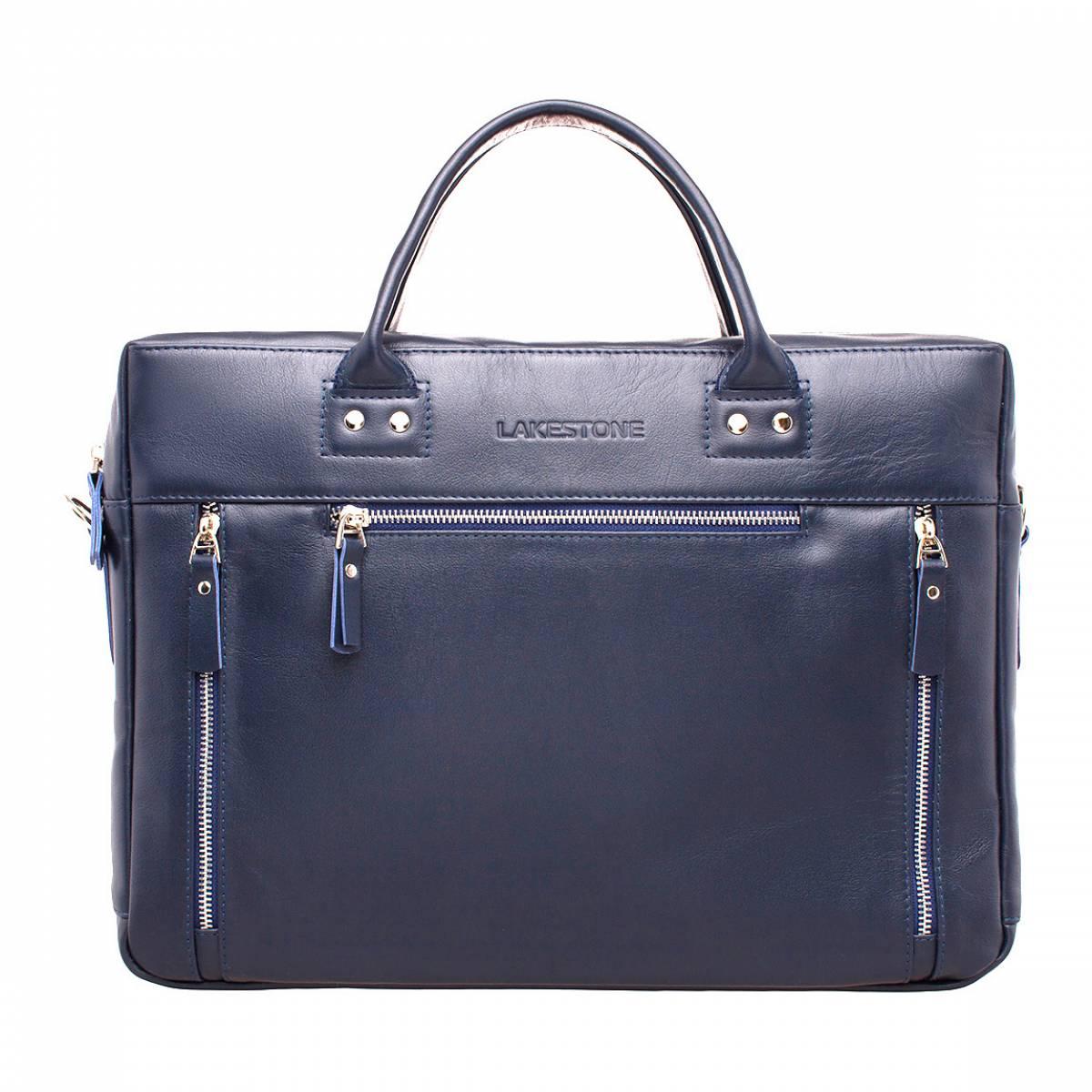 Деловая сумка Barossa Dark Blue для ноутбука фото