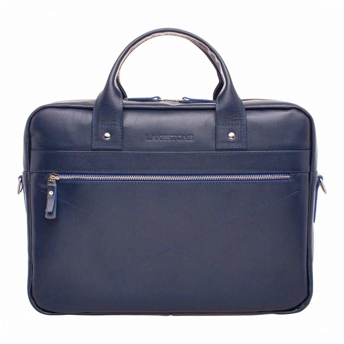 Деловая сумка Bartley Dark Blue для ноутбука фото