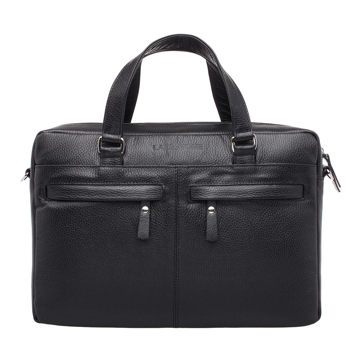 Деловая сумка Bedford Black для ноутбука фото