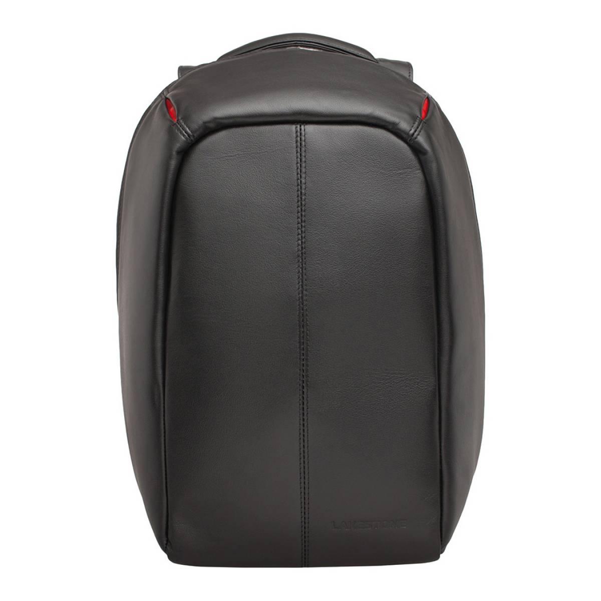 Мужской кожаный рюкзак Blandford Black
