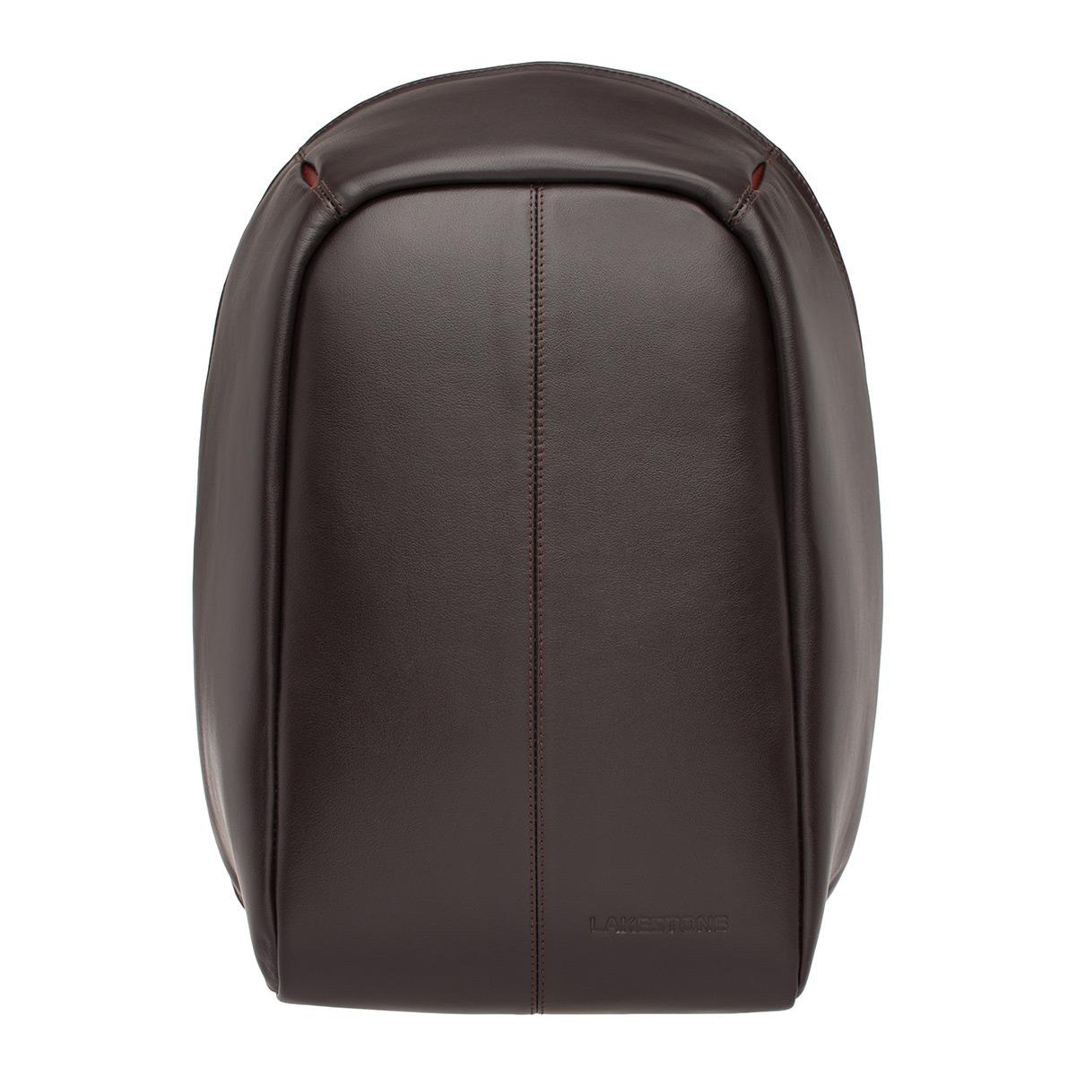 Мужской кожаный Рюкзак для ноутбука Blandford Brown фото