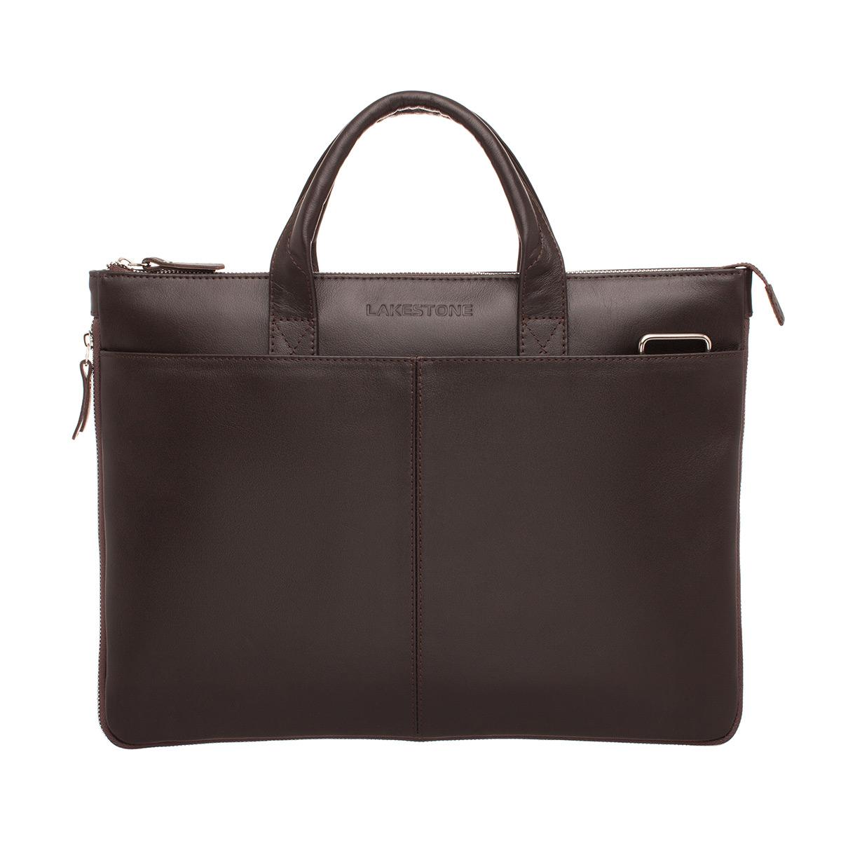 Деловая сумка Bolton Brown из кожи для ноутбука фото