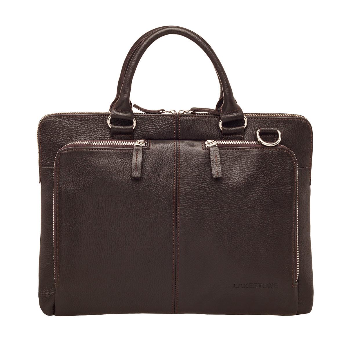 Деловая сумка Brook Brown для ноутбука фото