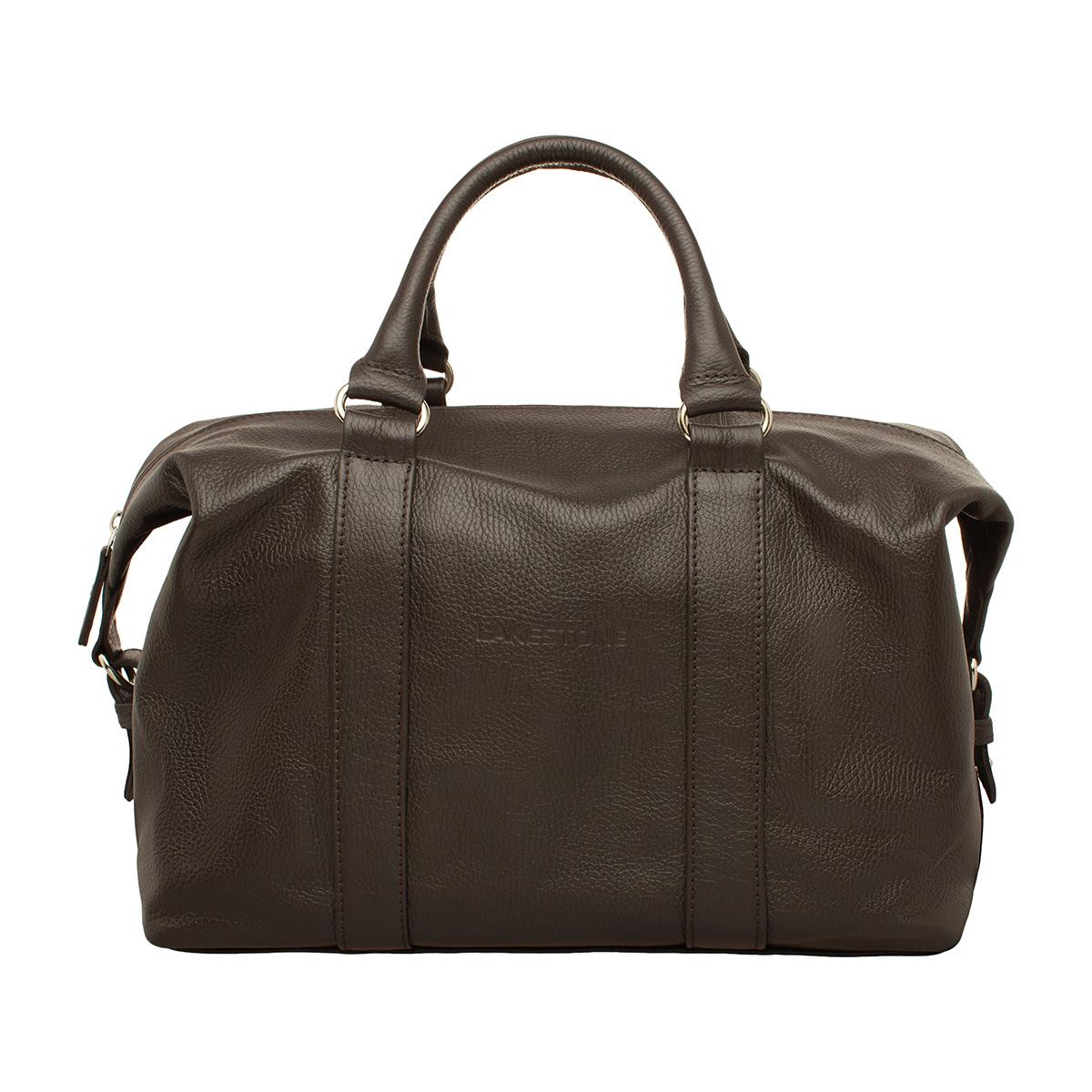 Фото - Кожаная спортивная сумка Calcott Brown