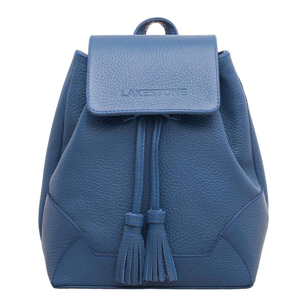 Небольшой женский рюкзак Clare Blue фото