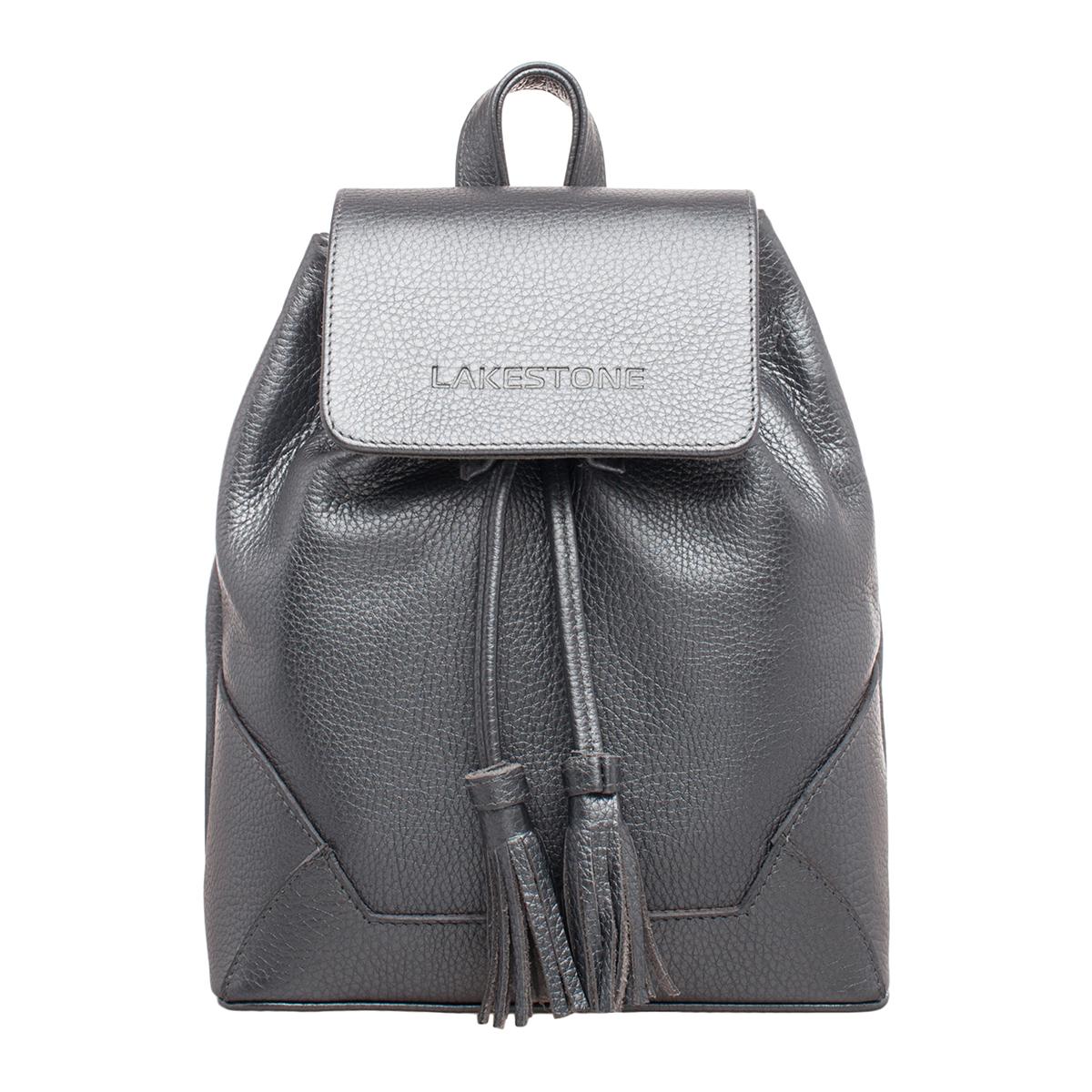 Небольшой женский рюкзак Clare Silver Grey фото