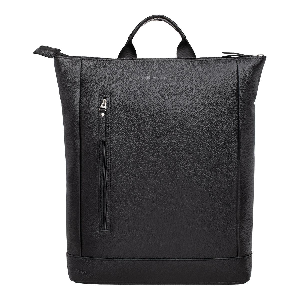 Кожаный рюкзак Coberley Black