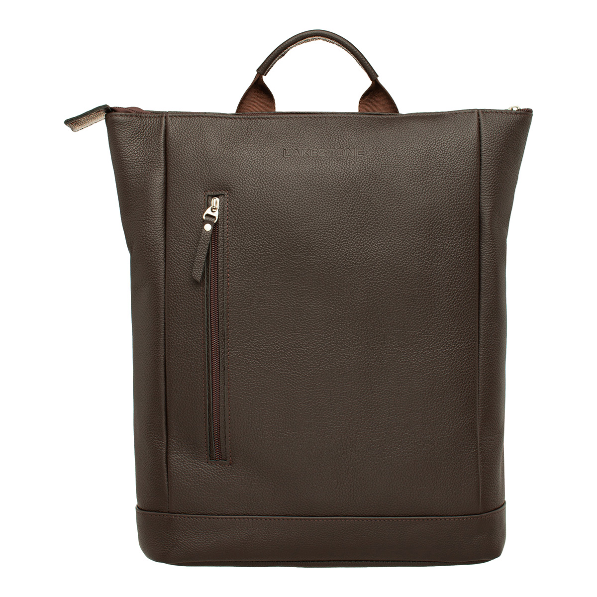 Кожаный рюкзак Coberley Brown фото