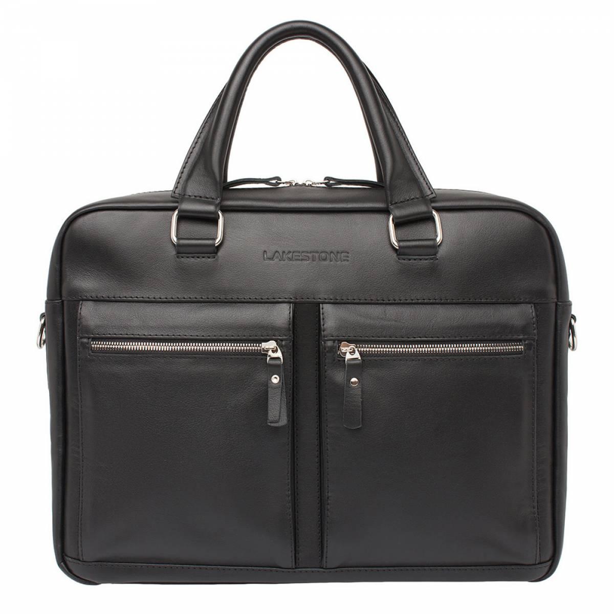Деловая сумка для ноутбука Colston Black фото