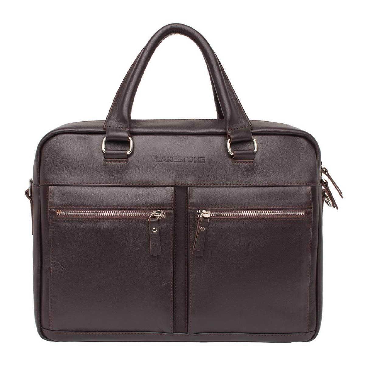 Деловая сумка для ноутбука Colston Brown фото