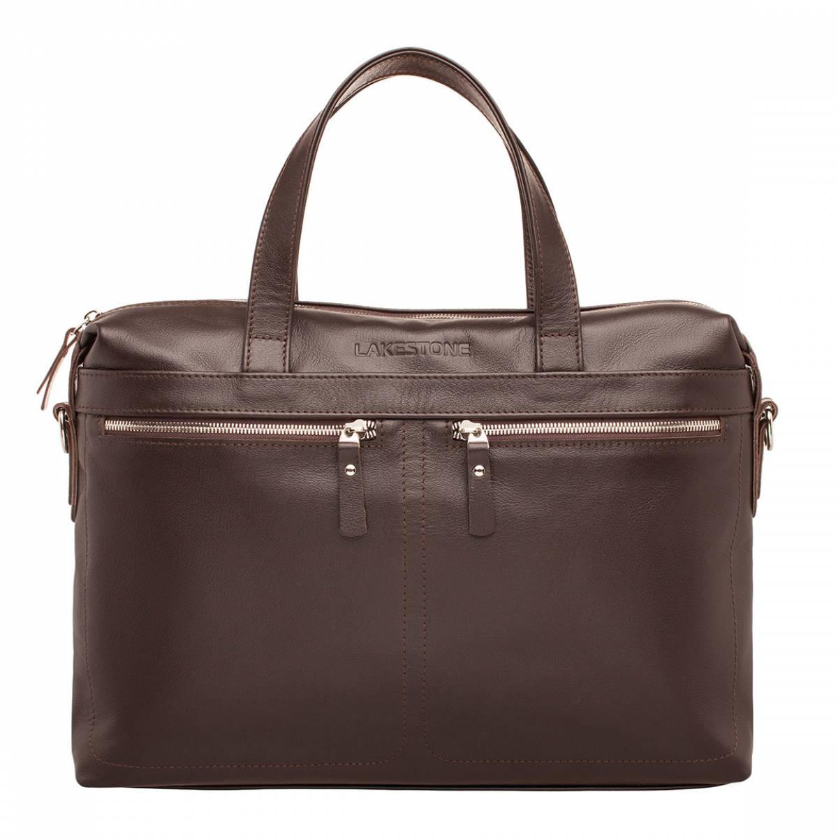 Деловая сумка Dalston Brown фото