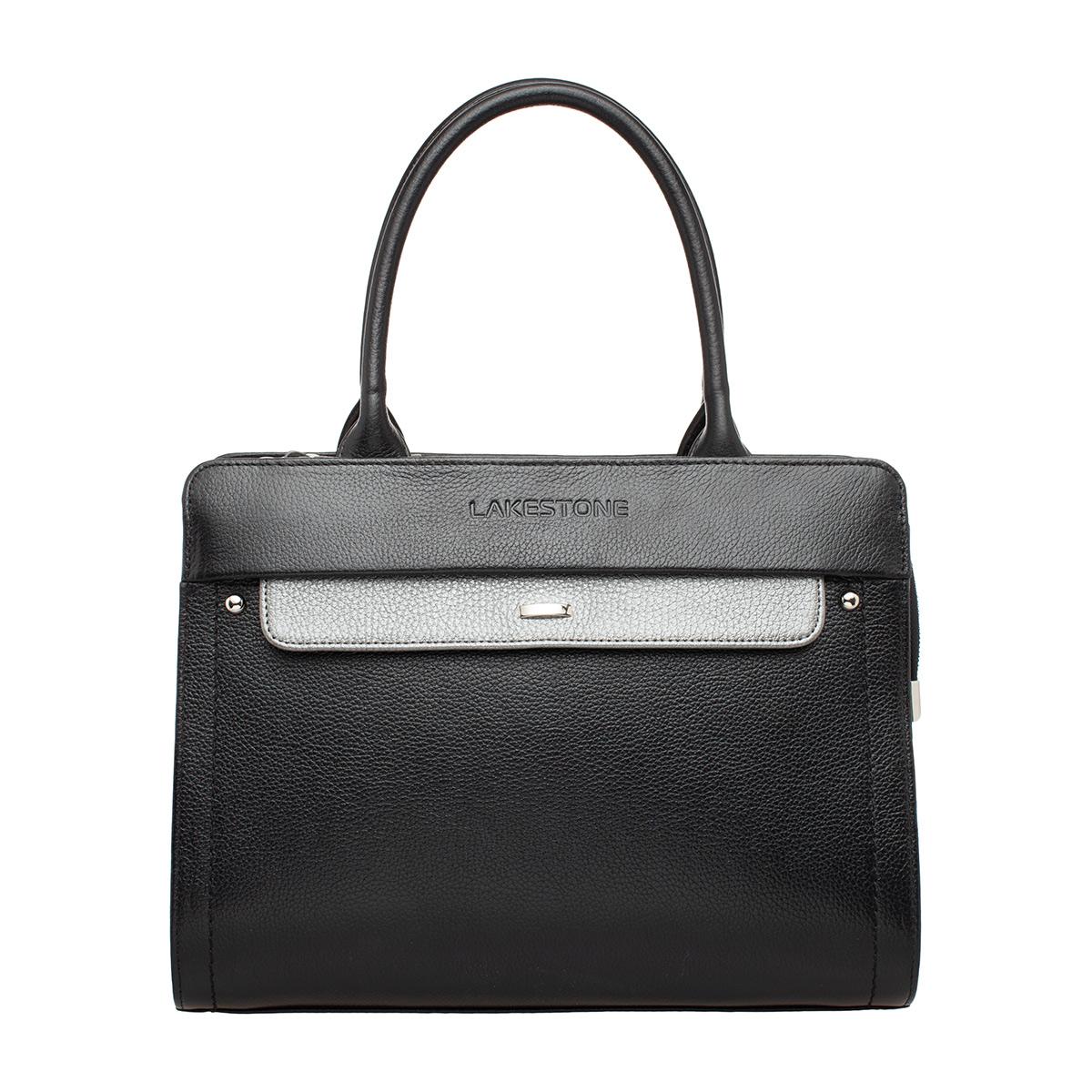 Женская кожаная сумка Darnley Black фото