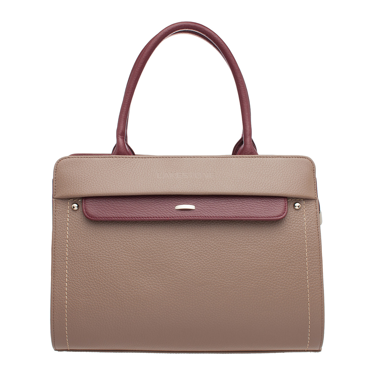 Женская кожаная сумка Darnley Taupe