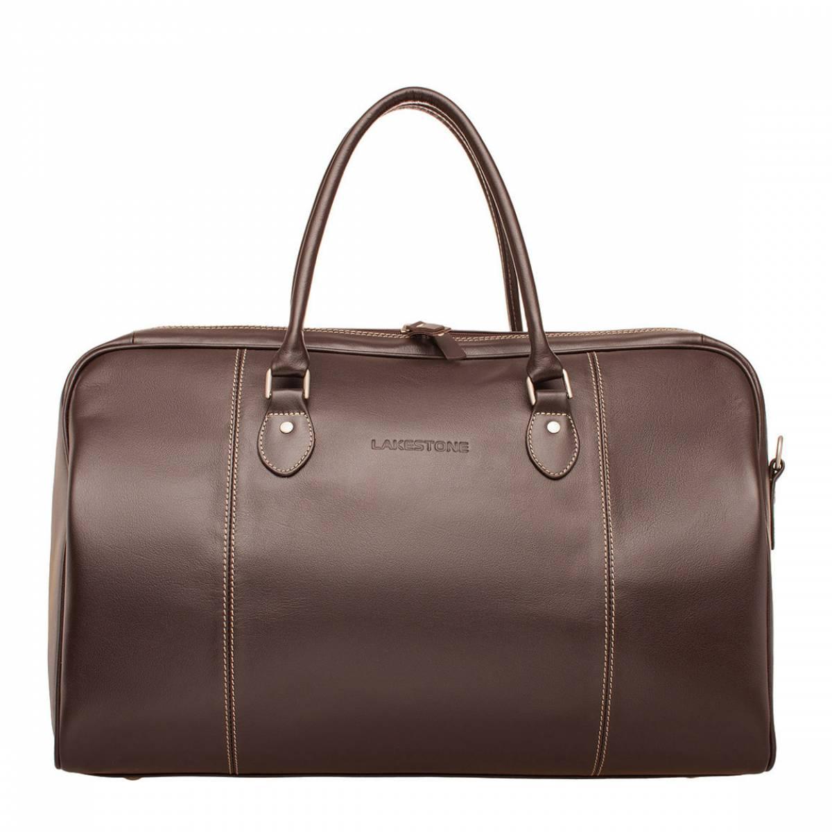 Дорожная сумка Davis Brown из кожи