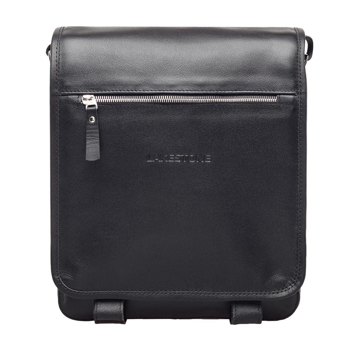 Мужская сумка через плечо Denston Black фото