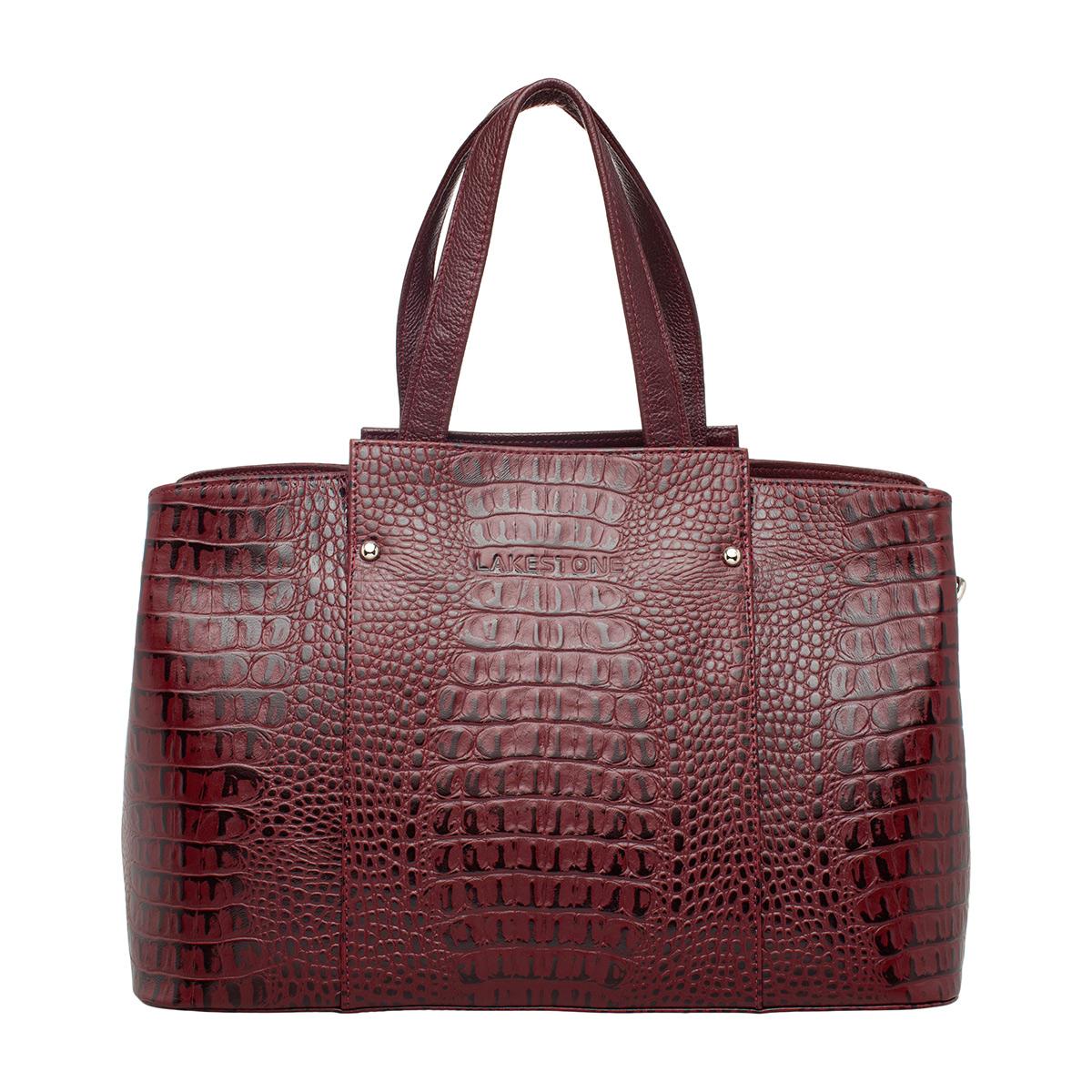 Женская сумка Dovey Burgundy фото