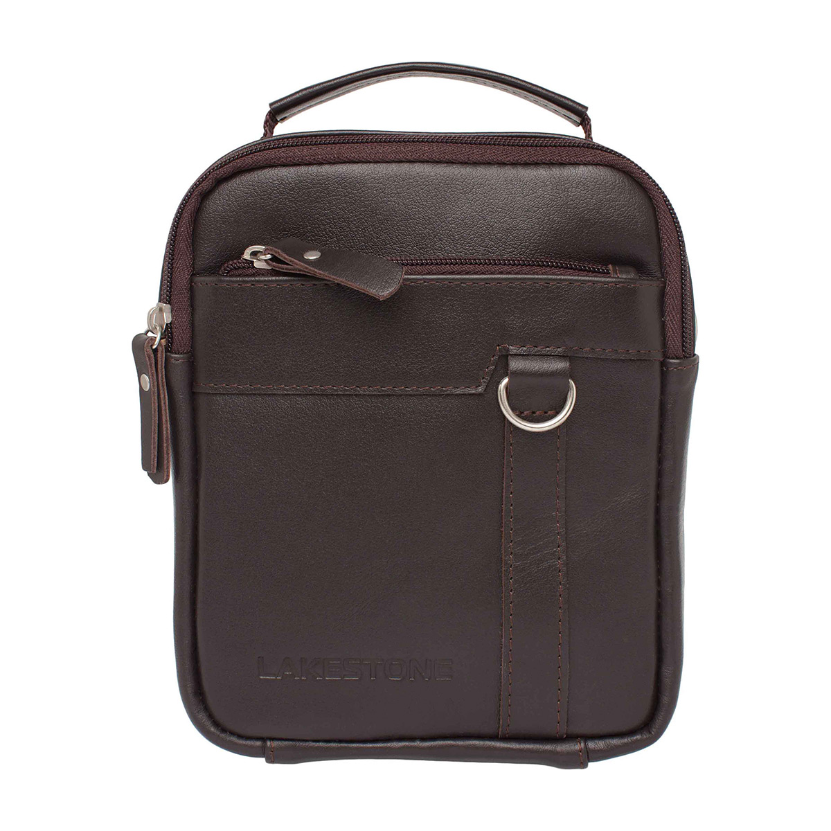 Мужская сумка через плечо Drake Brown фото