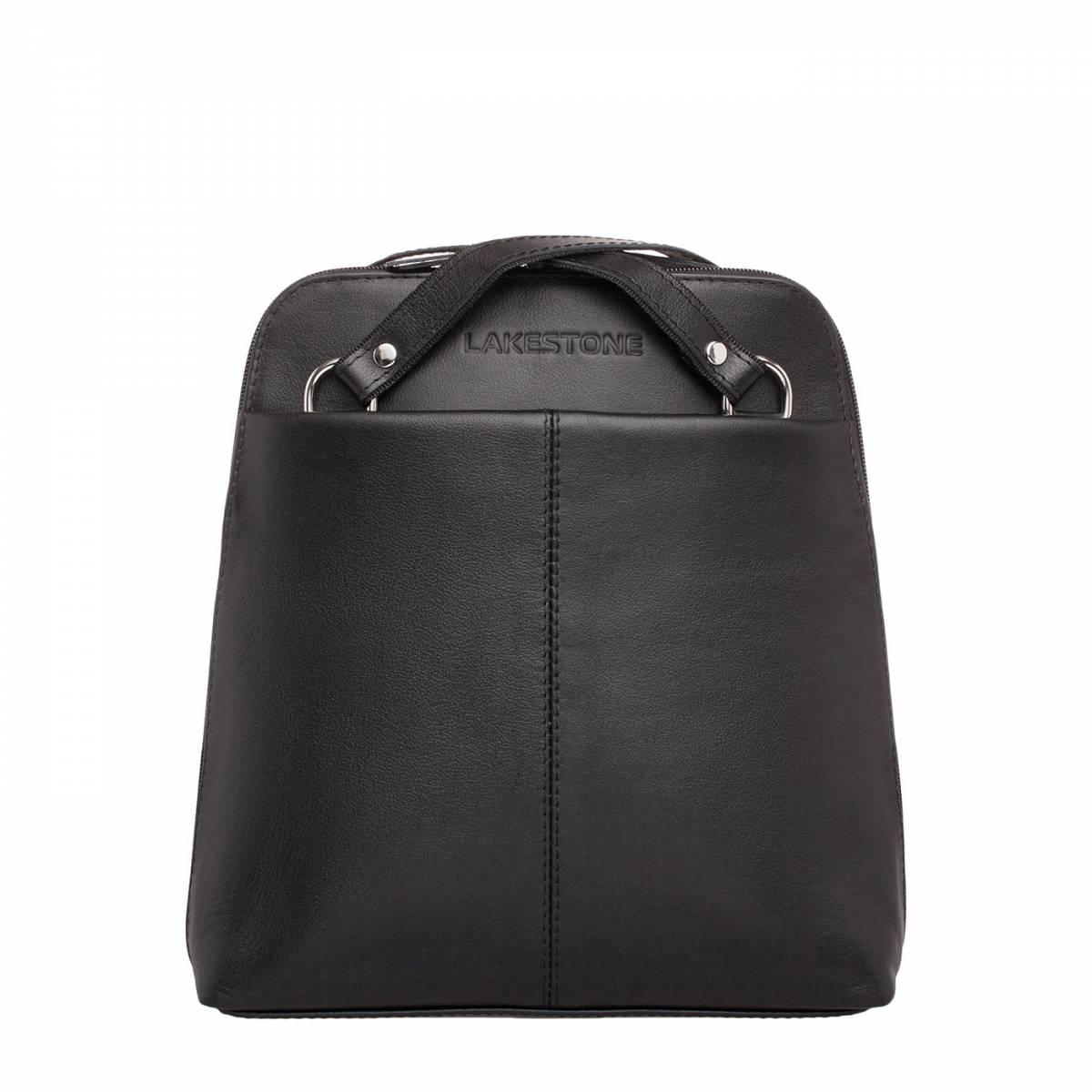 Компактный женский рюкзак-трансформер Eden Black фото