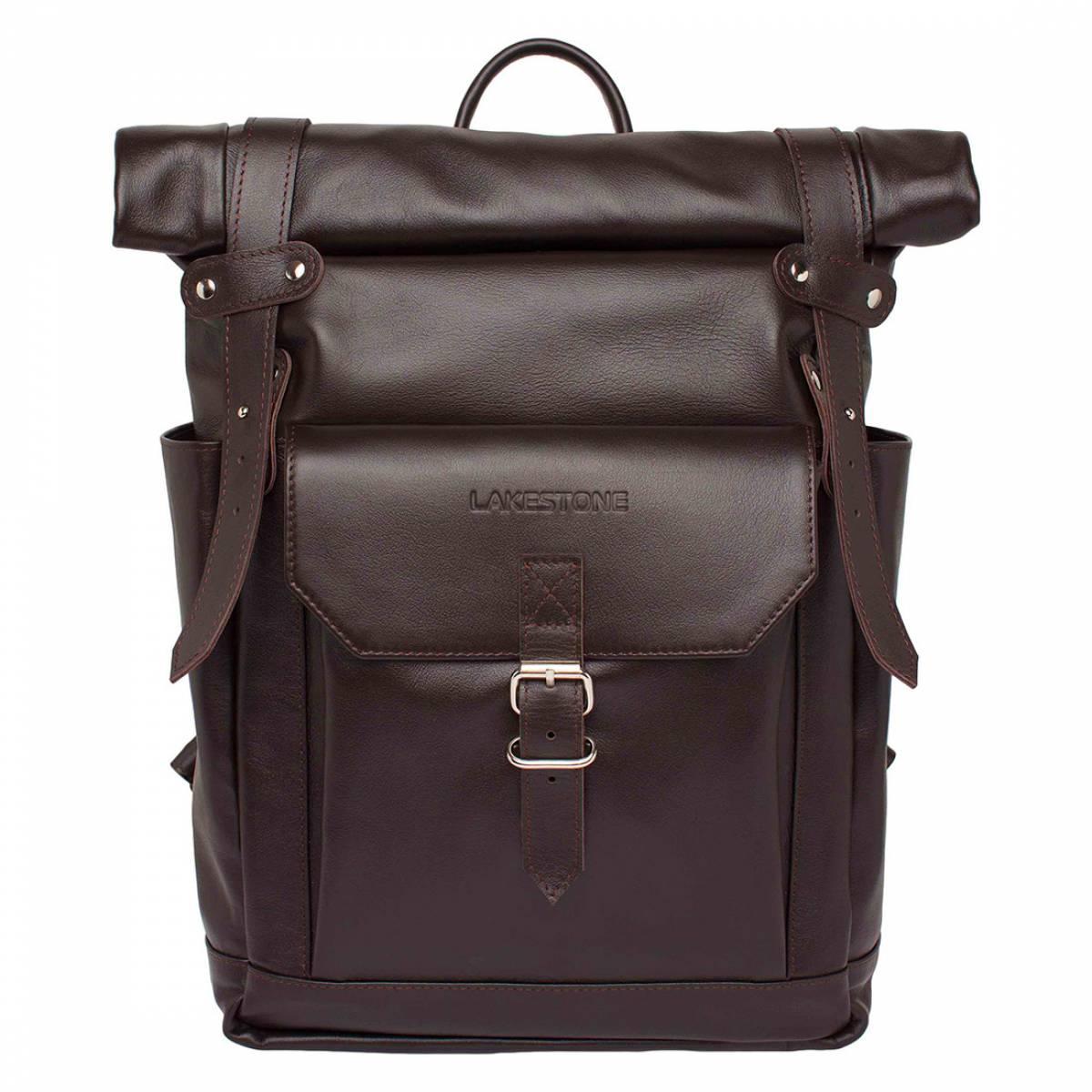 Кожаный рюкзак для ноутбука Eliot Brown фото