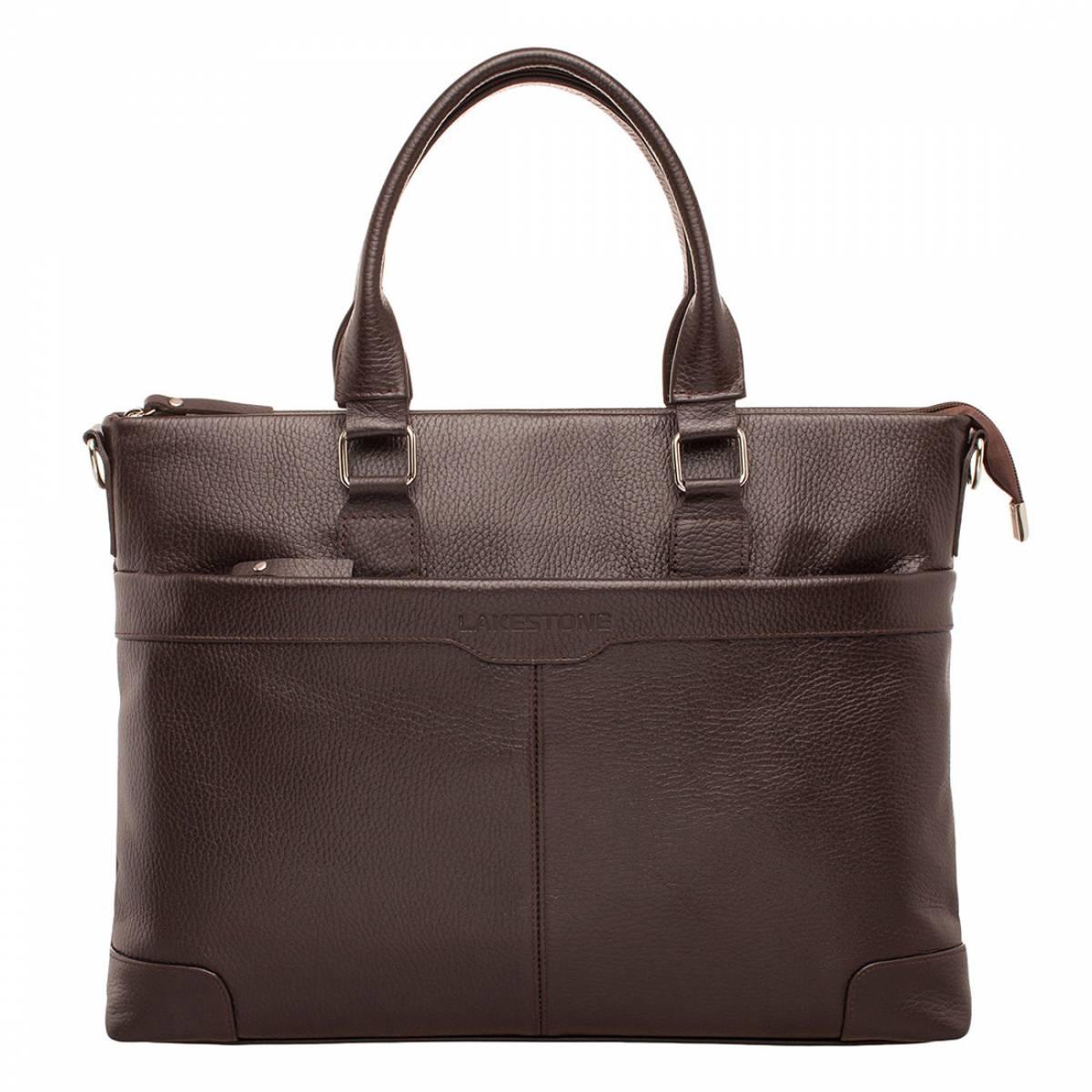 Деловая сумка Gilroy Brown фото