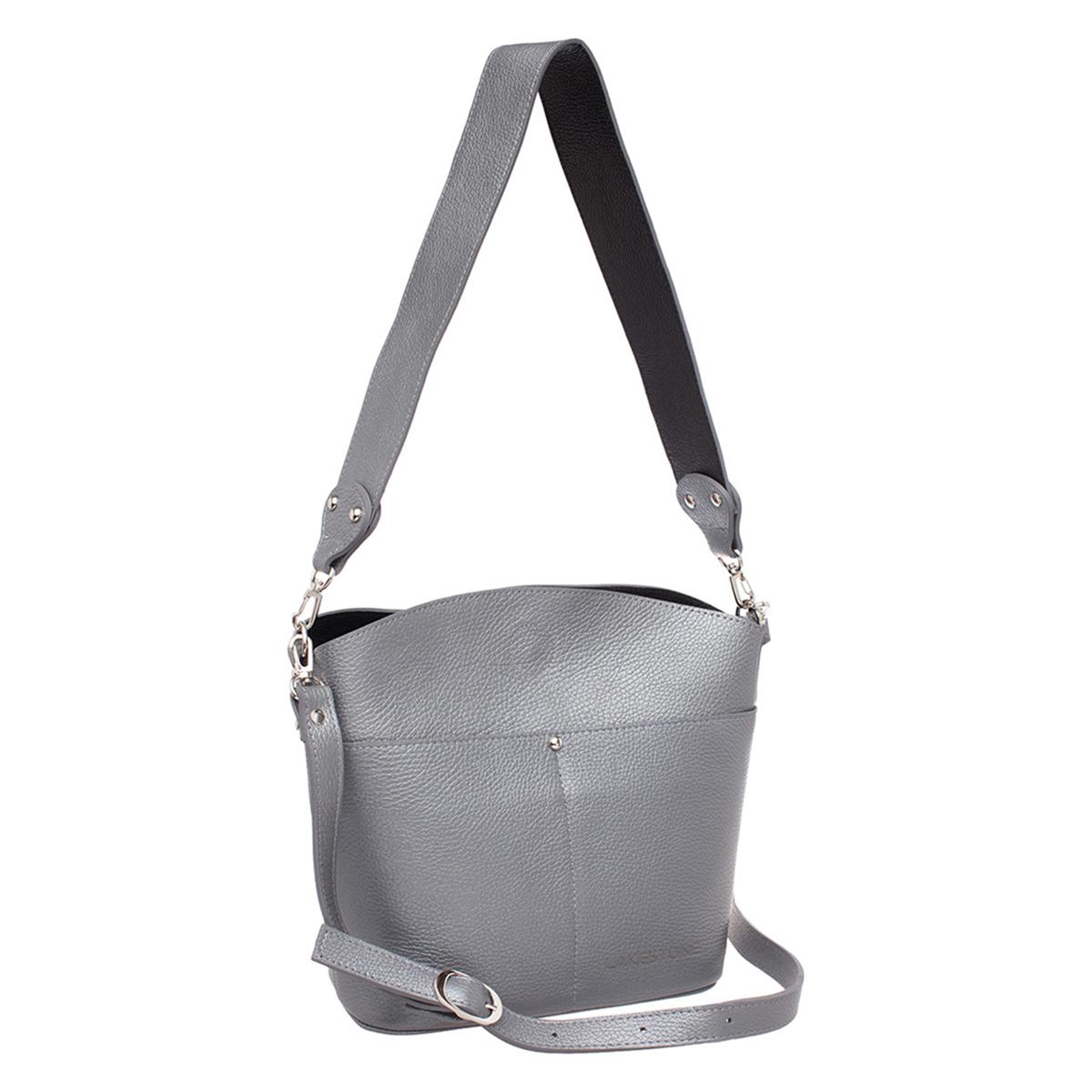 Женская сумка Grindell Silver Grey фото