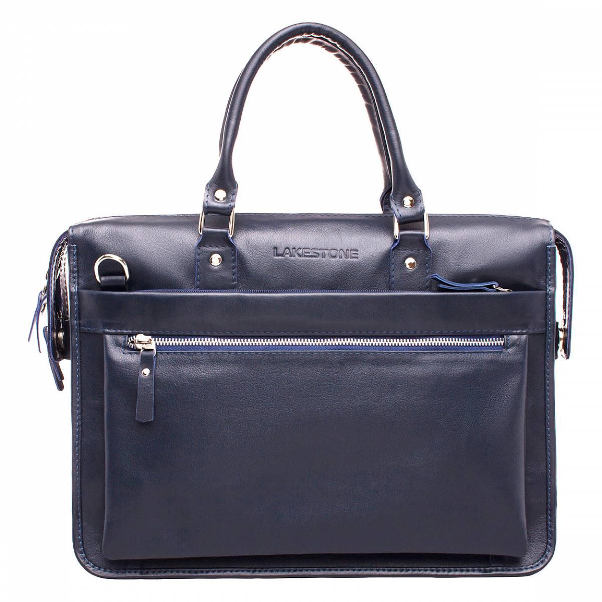 Деловая сумка Halston Dark Blue фото