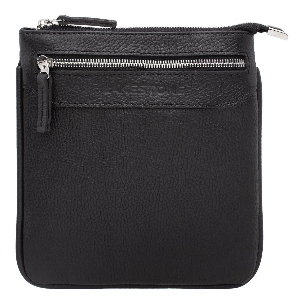 Мужская сумка через плечо Hutton Black