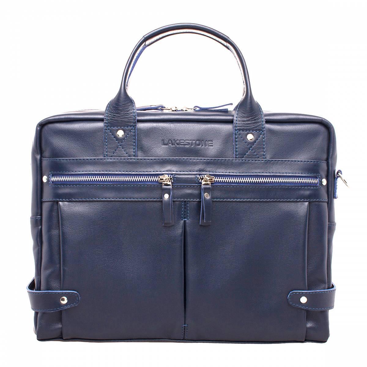 Деловая сумка Jacob Dark Blue фото