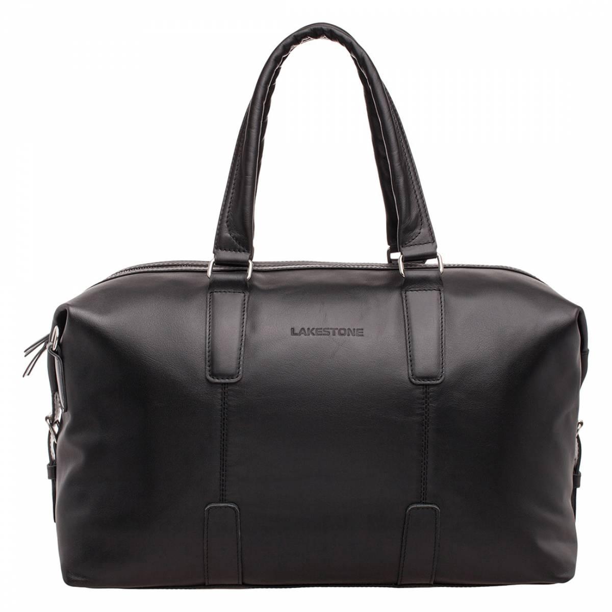 Кожаная дорожная сумка Kennard Black фото