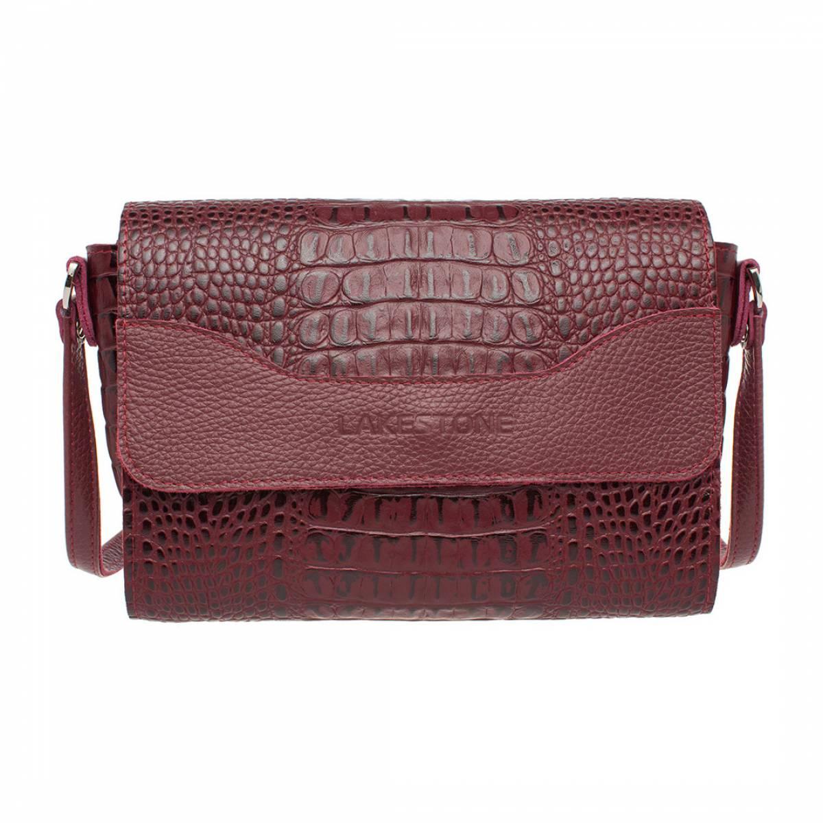 Женская сумка Kidney Burgundy фото