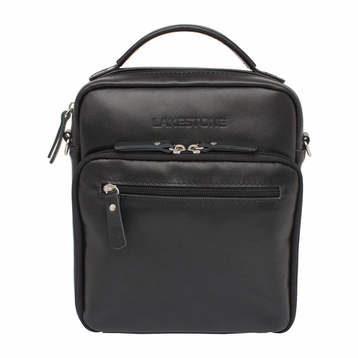 Мужская сумка через плечо Logan Black