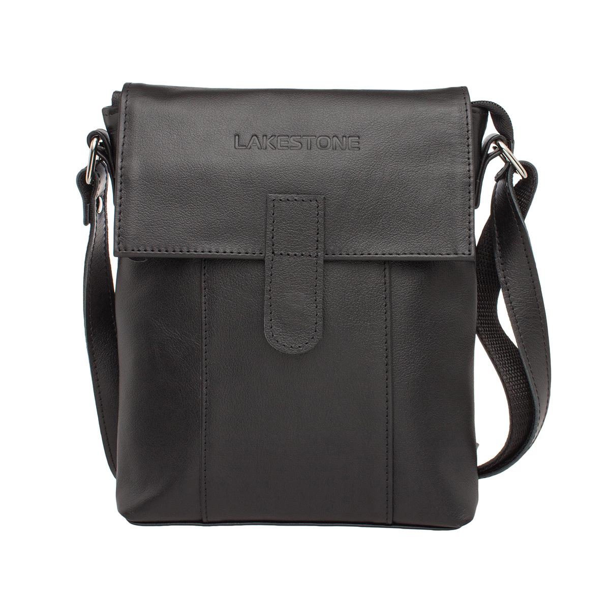 Мужская сумка через плечо Monkton Black фото