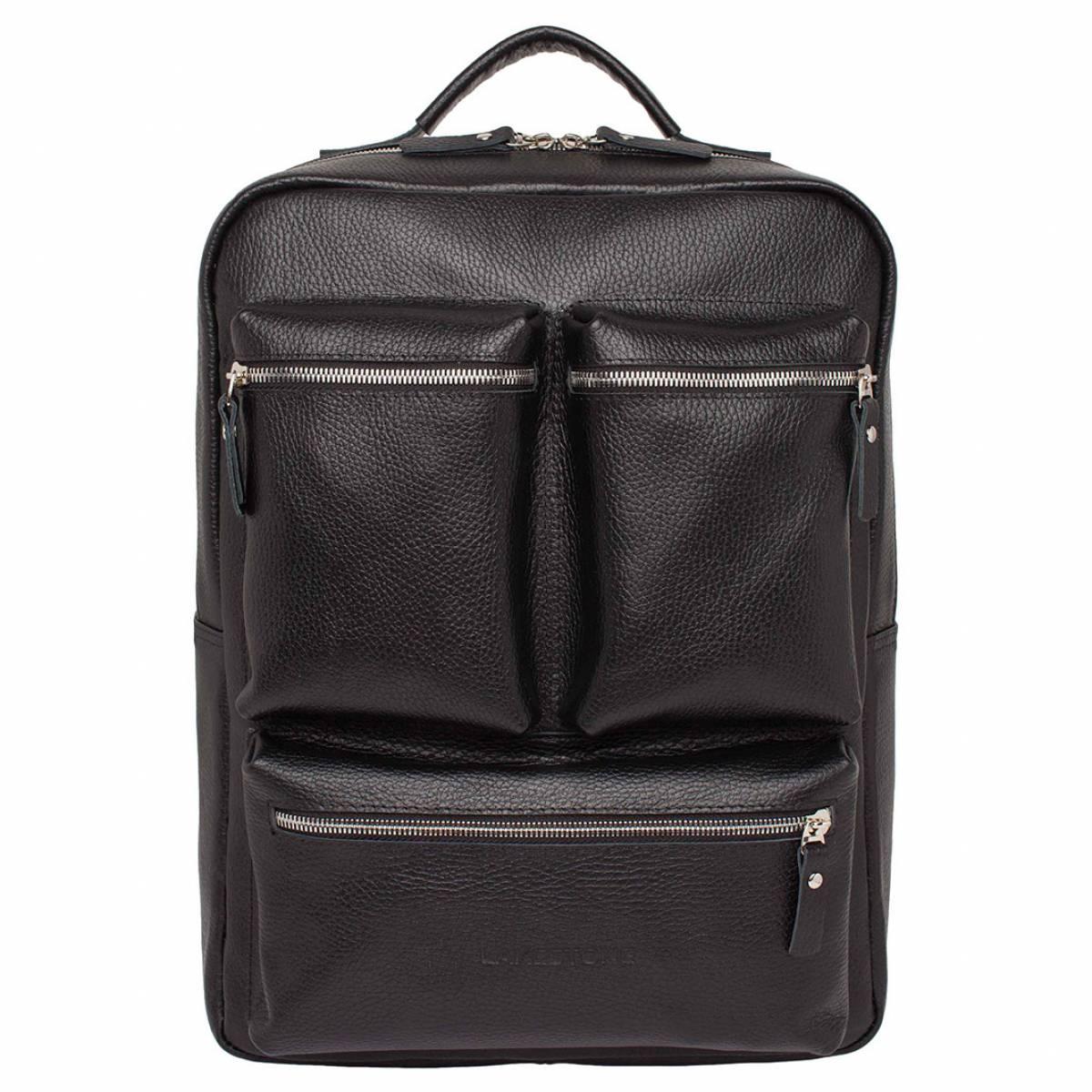 Кожаный рюкзак для ноутбука Norley Black