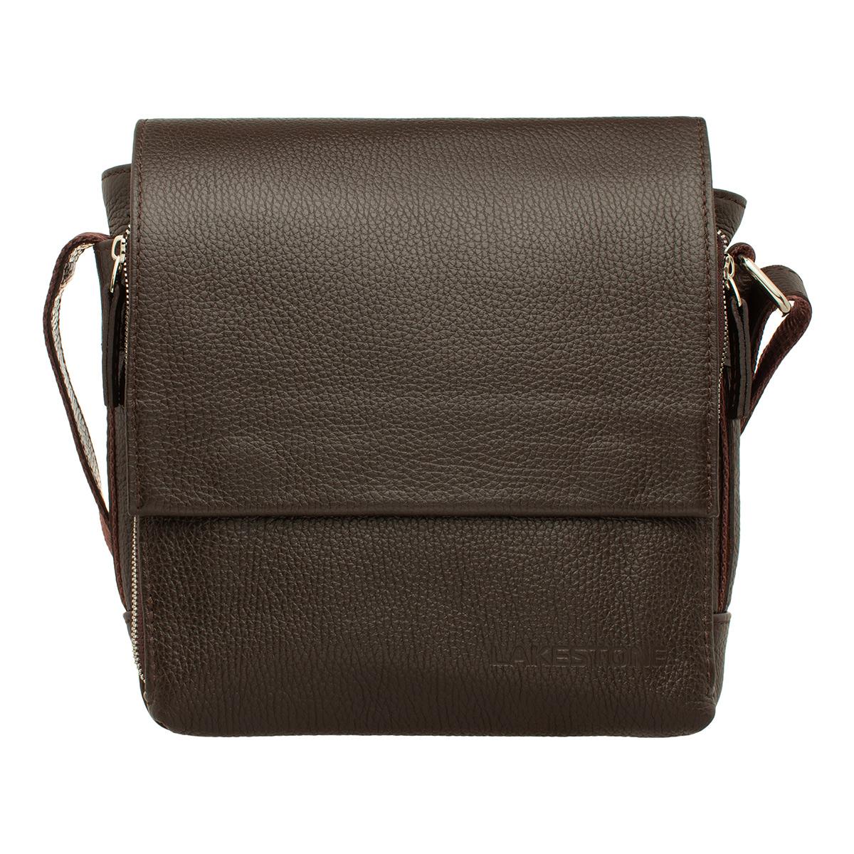 Мужская сумка через плечо Norton Brown фото
