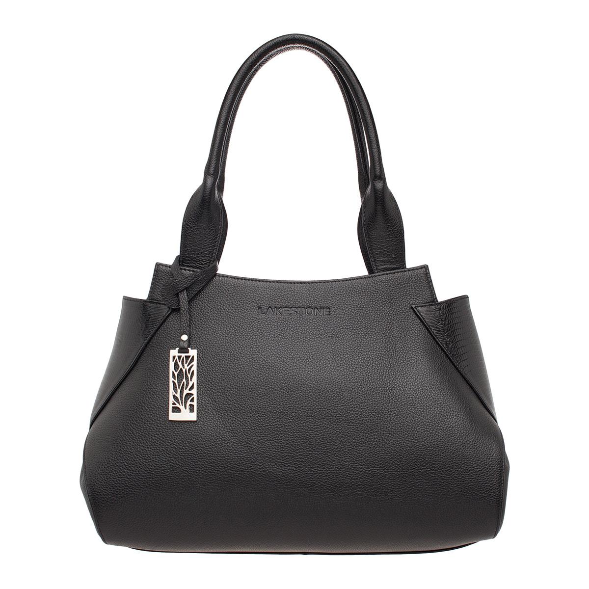 Кожаная женская сумка Osprey Black