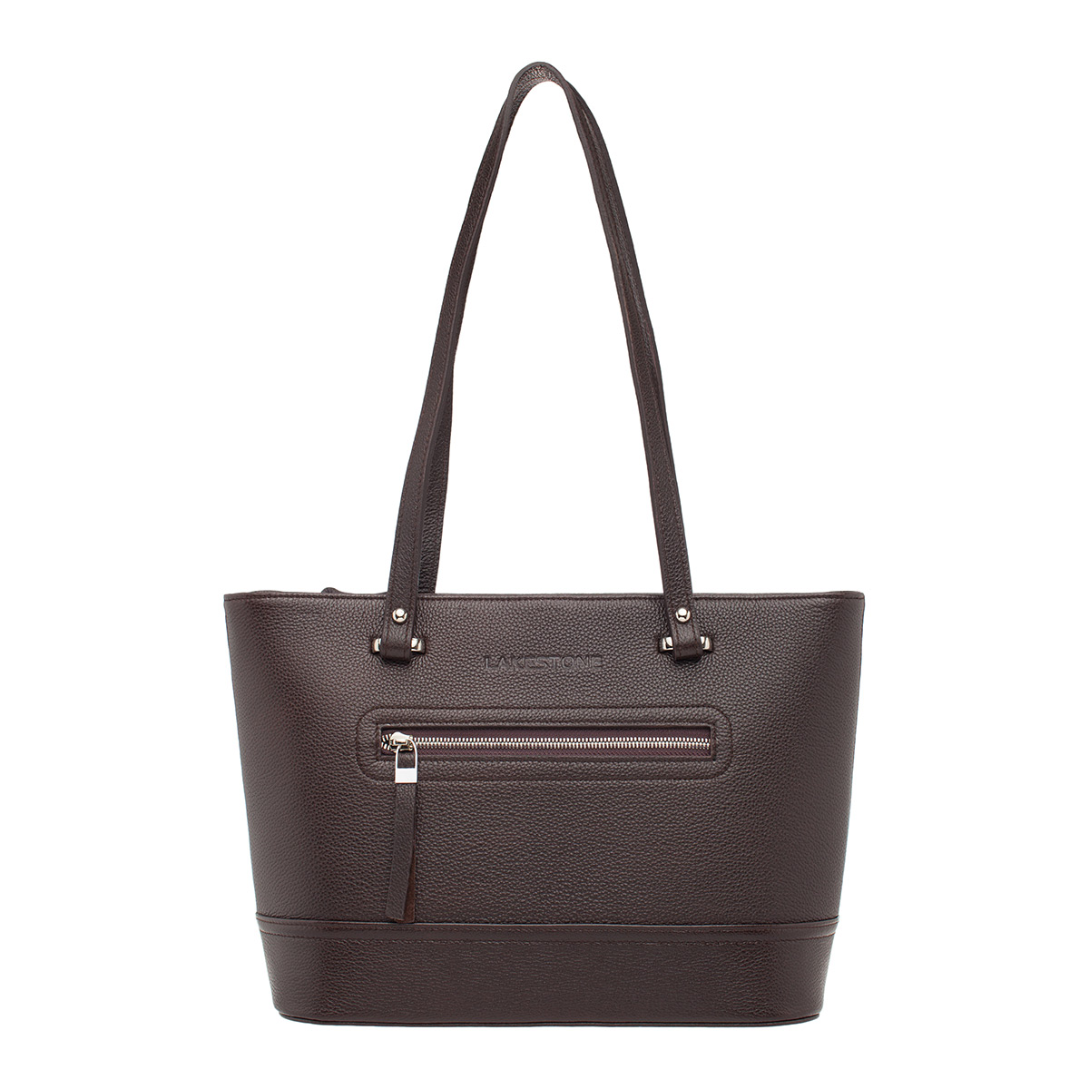 Кожаная женская сумка Page Brown