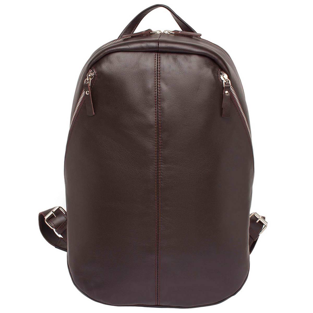 Кожаный рюкзак для ноутбука Pensford Brown