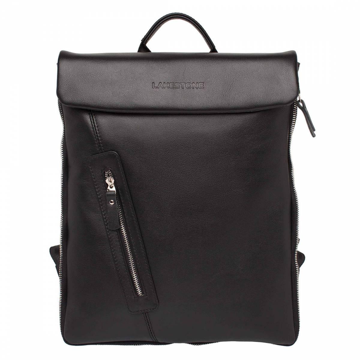 Кожаный рюкзак для ноутбука Ramsey Black