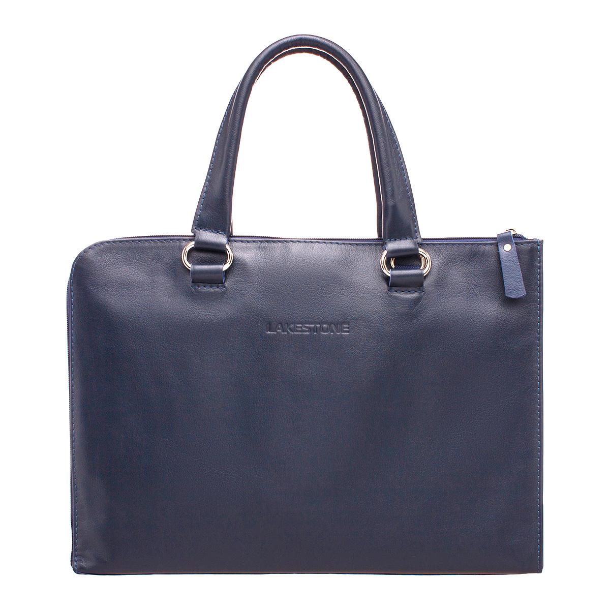 Деловая сумка-папка Randall Dark Blue фото